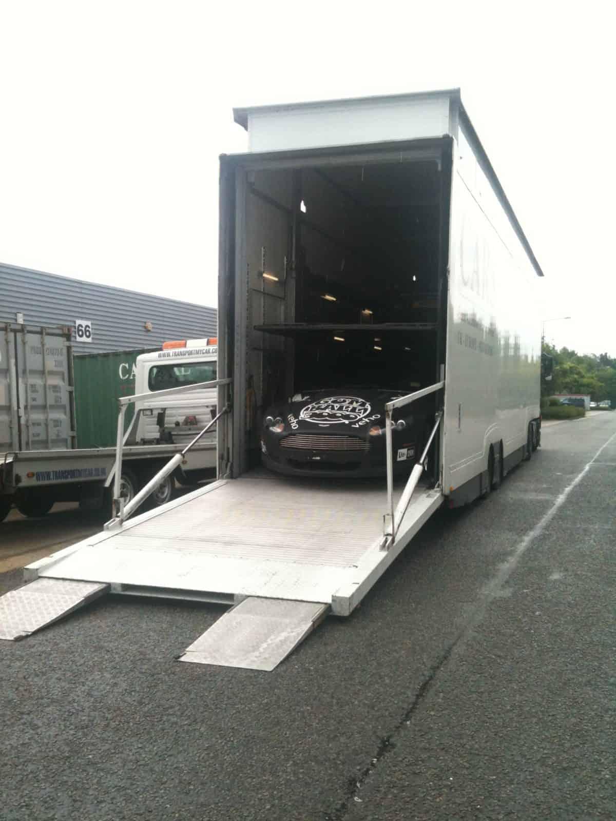 supercar shipping uk