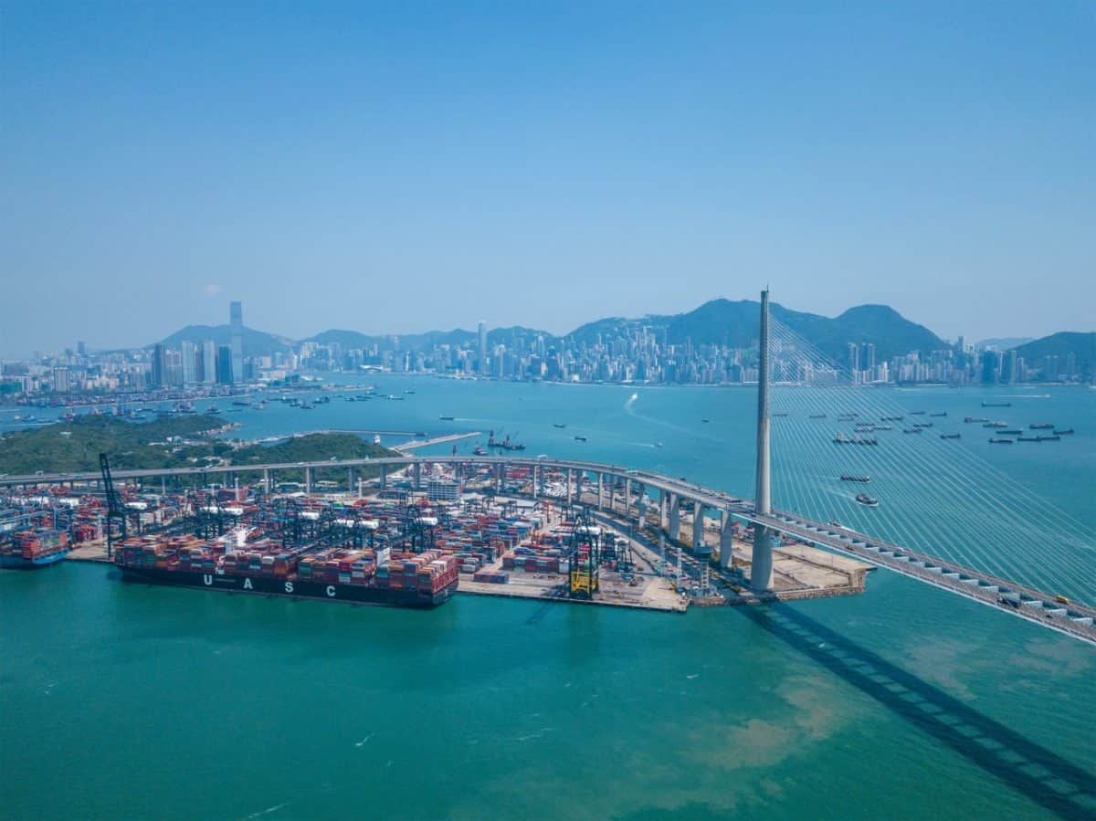 Car Shipping from HOng Kong at the Container port